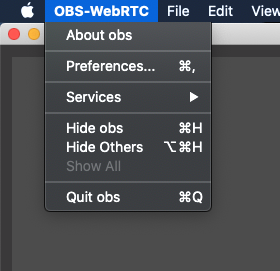 OBS Preferences